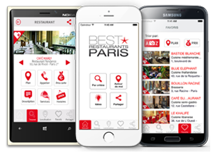 Best Restaurants Paris Mobile Applications